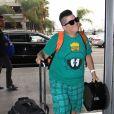 Lea DeLaria à l'aéroport LAX de Los Angeles le 19 septembre 2016.