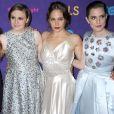 """Zosia Mamet, Lena Dunham, Jemima Kirke et Allison Williams - Premiere de la 3e saison de la serie """"Girls"""" au Jazz au Lincoln Center a New York, le 6 janvier 2014."""