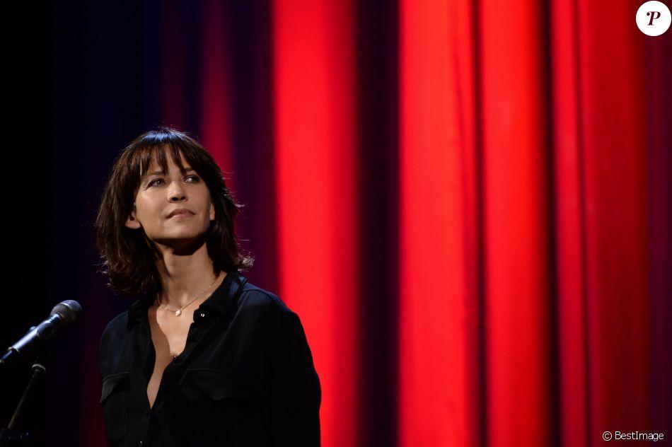 Sophie Marceau - Remise du Lion d'Or à Jean-Paul Belmondo pour l'ensemble de sa carrière lors du 73ème Festival du Film de Venise, la Mostra. Le 8 septembre 2016