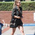 Sarah Michelle Gellar - Les célébrités à la sortie de la fête d'anniversaire de Rocky Prinze (fils de Sarah Michelle Geller) à Los Angeles, le 18 septembre 2016