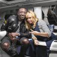 """Exclusif - Enora Malagré prend la pose pour la promotion de sa nouvelle émission """"Le Van"""", qui sera diffusée tous les lundis à partir du 23 janvier en deuxième partie sur CSTAR. Son premier invité est Ahmed Sylla."""