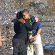 Barack Obama et sa demi-soeur dispersent les cendres de leur grand-mère dans l'Océan Pacifique