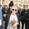 Kylie Minogue-Défilé Schiaparelli, collection Haute Couture printemps-été 2017 à Paris. Le 23 janvier 2017.© CVS - Veeren / Bestimage