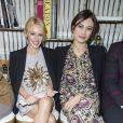 Kylie Minogue et Olga Kurylenko- Défilé Schiaparelli, collection Haute Couture printemps-été 2017 à Paris. Le 23 janvier 2017. © Olivier Borde / Bestimage