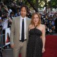 Dadid Duchovny et Gillian Anderson