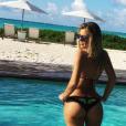 Brielle Biermann, la fille de Kim Zolciak-Biermann exhibe ses courbes sur les réseaux sociaux. Photo publiée sur Instagram dans le courant de l'année 2016