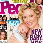 Katherine Heigl, maman, dévoile le visage de son fils !
