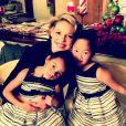 Katherine Heigl et ses filles, sur Instagram. Décembre 2016.
