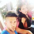 Adixia et son chéri Paga sur Instagram. Juillet 2016.