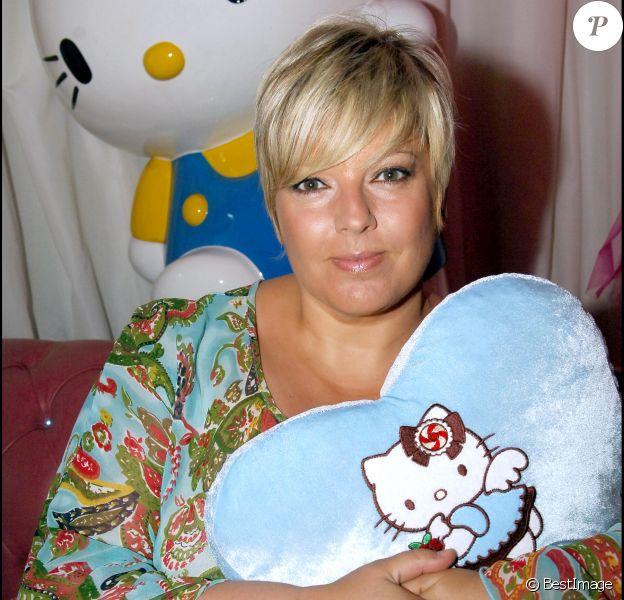 Laurence Boccolini - Cathy Guetta fête son anniversaire en 2005.