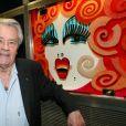 Alain Delon - Michou fête ses 85 ans et les 60 ans de son cabaret à Paris le 20 juin 2016.