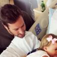 Armie Hammer et l'animatrice télé Elizabeth Chambers, déjà parents de Harper née en 2014, ont accueilli le 15 janvier 2017 leur second enfant : Ford. Photo Instagram.