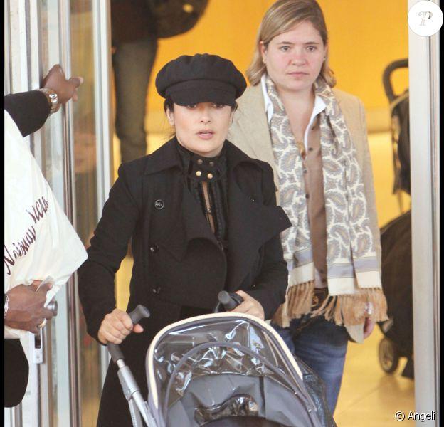 Salma Hayek et sa fille Valentina Paloma