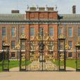 Vue du palais de Kensington, résidence officielle du duc et de la duchesse de Cambridge ainsi que du prince Harry, en avril 2013 à Londres.