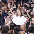 """Clare Waight Keller - Défilé de mode prêt-à-porter printemps-été 2017 """"Chloé"""" à Paris, le 29 Septembre 2016."""