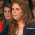 """Valérie Bénaïm dans """"Touche pas à mon poste"""" le 30 janvier 2017 sur C8."""