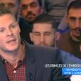 """Matthieu Delormeau dans """"Touche pas à mon poste"""" le 30 janvier 2017 sur C8."""