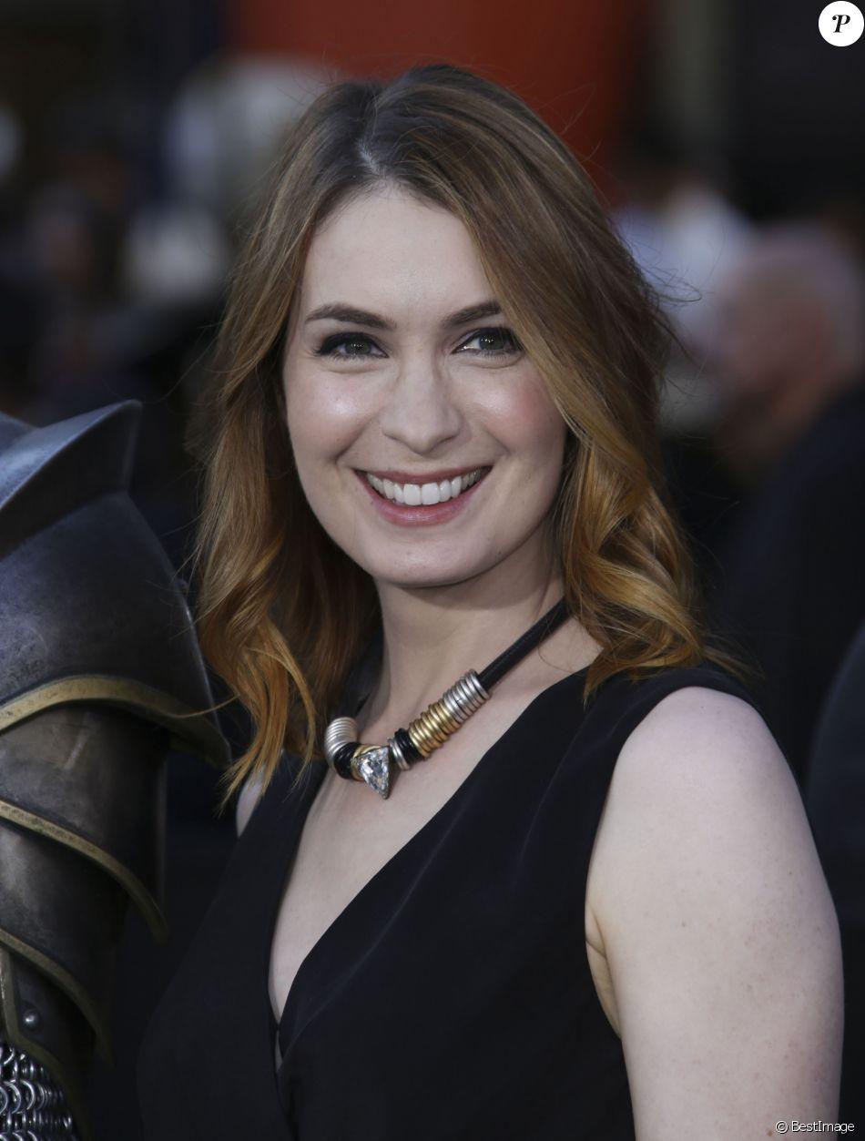 """Felicia Day à la première de """"Warcraft"""" au Chinese Theater IMAX à Hollywood le 6 juin 2016."""