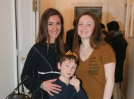Emmanuelle Boidron et ses enfants, gourmands, face à Philippe Caroit couronné
