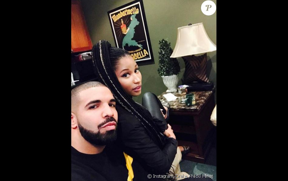 Drake et Nicki Minaj à Miami. Janvier 2017.