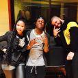 Nicki Minaj, Lil Wayne et Drake à Miami. Janvier 2017.