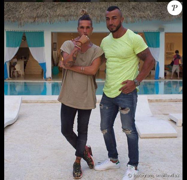 """Smaïl et Eddy de """"La Villa des Coeurs brisés 2"""" sur Instagram, 2017"""