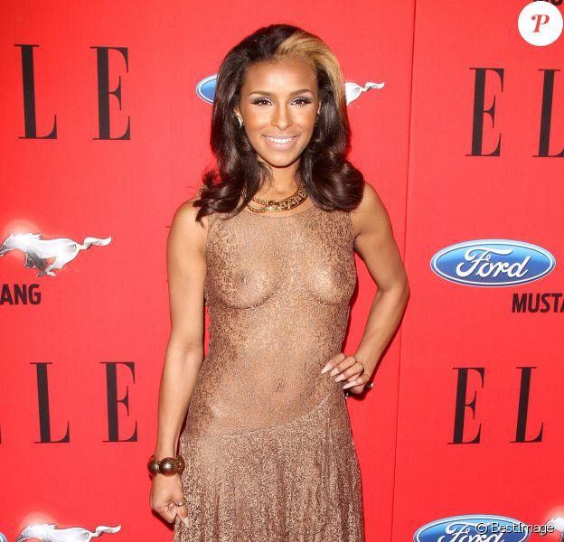 Melody Thornton à la soirée ELLE Women In Music à Hollywood, le 11 avril 2012