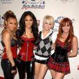 Melody Thornton, Nicole Scherzinger, Kimberly Wyatt et Jessica Sutta des Pussycat Dolls au Jingle Bell Bal à Londres, le 10 décembre 2008