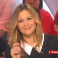 """Stéphanie Loire dans """"Il en pense quoi Camille ?"""" sur C8, le 9 février 2017."""