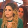 """Capucine Anav dans """"Il en pense quoi Camille ?"""" sur C8, le 9 février 2017."""