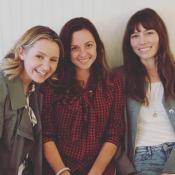 """Jessica Biel : Réunion complice avec ses deux soeurs de """"Sept à la maison"""""""