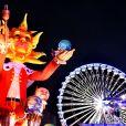 Le char du Roi Soleil durant le 1er corso du Carnaval de Nice 2017, à Nice, France, le 11 février 2017. © Bruno Bebert/Bestimage