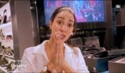 """Cristina Cordula aide une candidate des """"Reines du shopping"""" (M6) à être demandée en mariage, le 10 février 2017."""