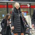 Kate Upton à New York. Le 15 février 2017.
