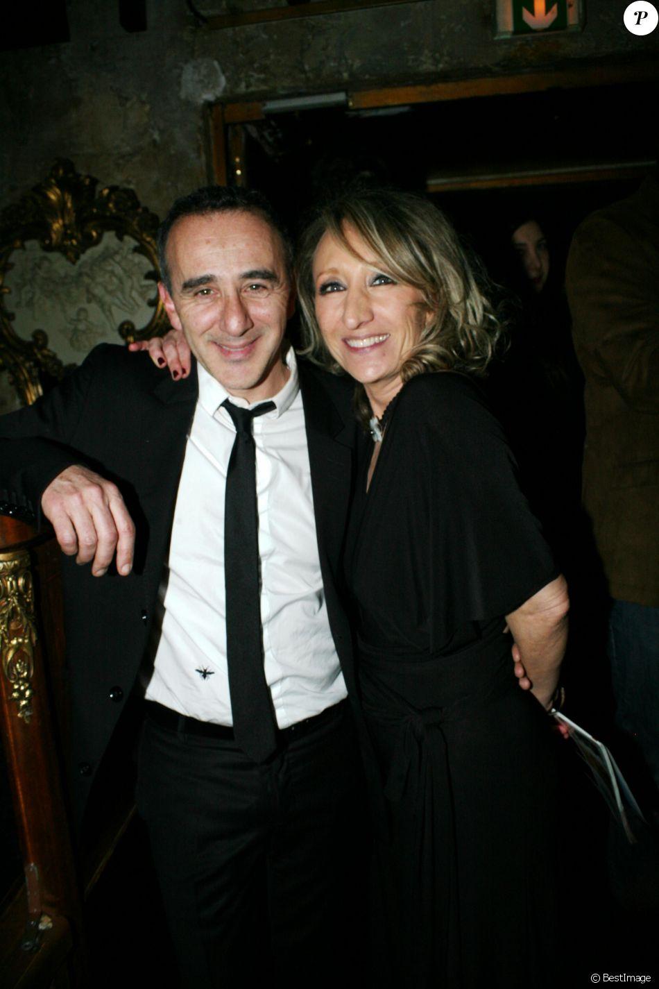 Lydia martinico et elie semoun lors de la soir e hommage for Chambre avec vue henri salvador