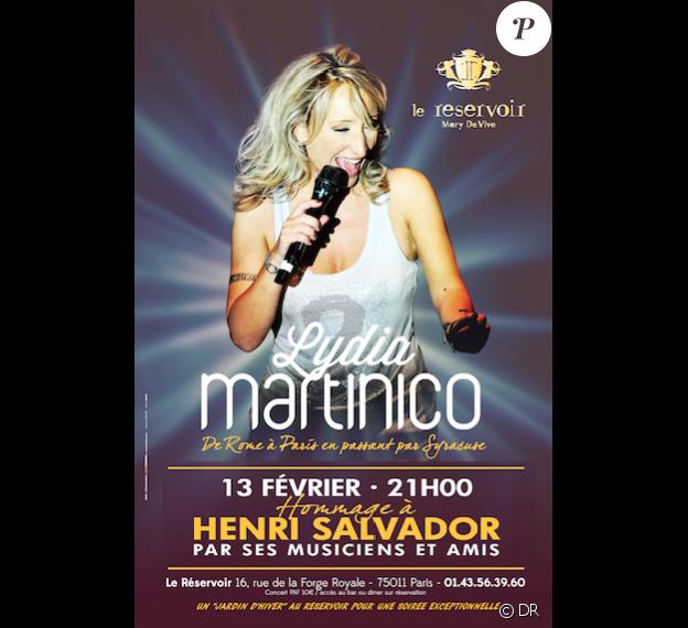 Lydia Martinico, les musiciens de l'album Chambre avec vue et des amis ont rendu hommage à Henri Salvador à l'occasion d'un concert au Réservoir, à Paris, le jour du 9e anniversaire de sa mort, le 13 février 2017.