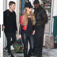 Paris Hilton se balade dans les rues de New York, le 10 février 2017