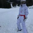 Victoria Beckham en vacances au ski, à la station  Whistler, au Canada, février 2017.