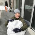 Cruz Beckham en vacances au ski, à la station  Whistler, au Canada, février 2017.