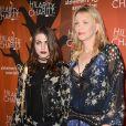 Frances Bean Cobain et sa mère Courtney Love à la soirée 'Hilarity for Charity' à Hollywood, le 15 octobre 2016
