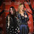 Frances Bean Cobain et sa mère Courtney Love à la soirée caritative 'Hilarity For Charity Variety Show' à Hollywood, le 15 octobre 2016