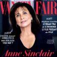 """Anne Sinclair en couverture de """"Vanity Fair"""", numéro du 21 février 2017."""