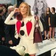La chanteuse Céline Dion présente sa collection en partenariat avec Bugatti, à Las Vegas le 21 février 2017