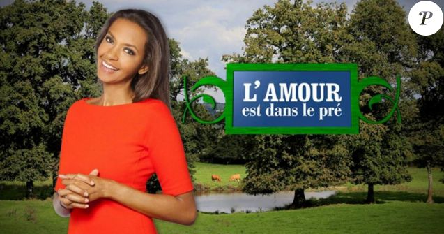 """Karine Le Marchand, animatirce de """"L'amour est dans le pré"""""""