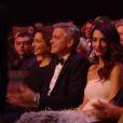 George et Amal pendant la cérémonie des César 2017.