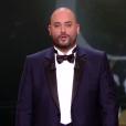 Jérôme Commandeur pendant la cérémonie des César 2017.