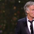 Franck Dubosc pendant la cérémonie des César 2017.