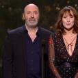 Cédric Klapisch et Ana Girardot pendant la cérémonie des César 2017.