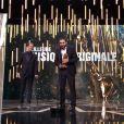 Ibrahim Maalouf pendantla cérémonie des César 2017.