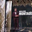 Xavier Dolan, meilleur montage, aux César 2017.